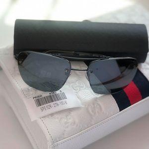 PRADA SPS 52R Black Sunglasses 56 B #163 100%AUTH